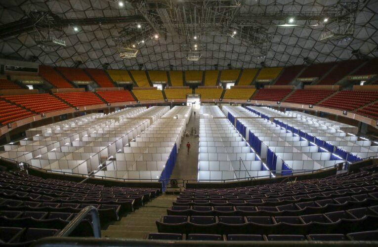 Hay 251 pacientes en el Poliedro de Caracas