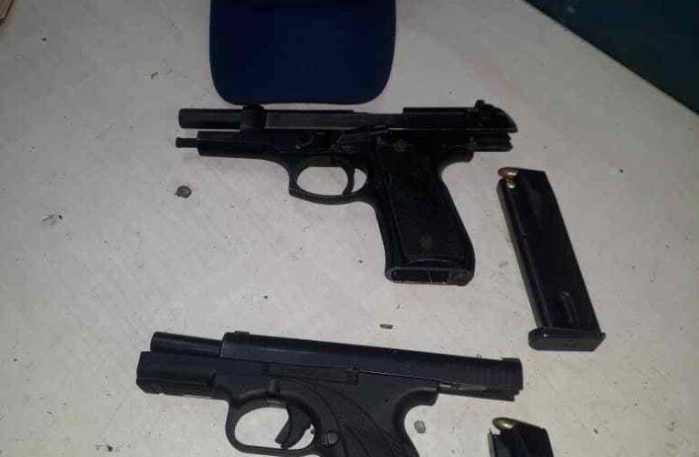 Detenidos dos falsos Dgcim con armas solicitadas