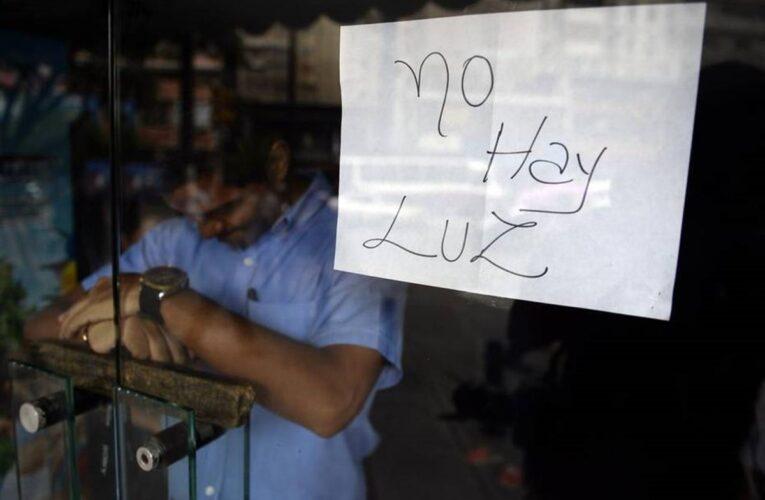 Bajón eléctrico en 11 estados y apagón en el Táchira