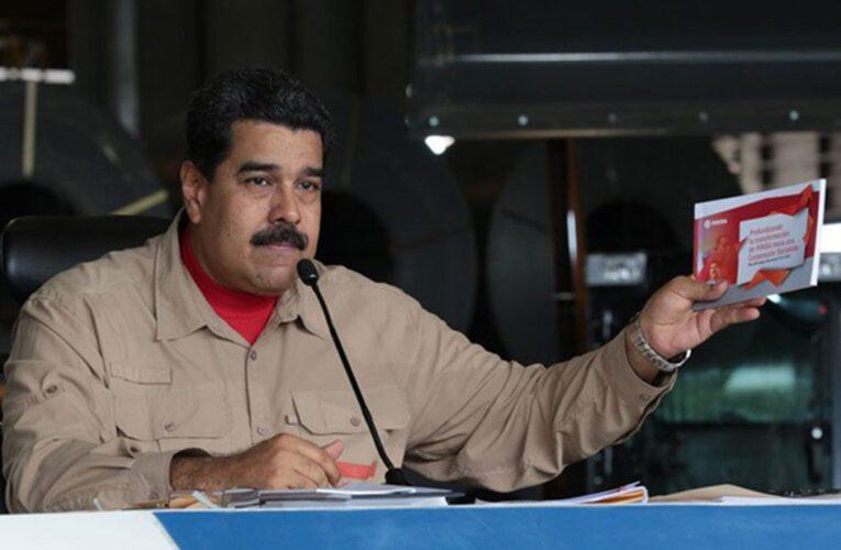 Maduro autoriza exportación de hasta 30% de los productos nacionales
