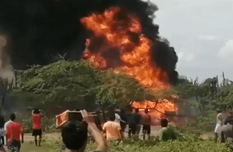 Explotan en Maicao dos cisternas de gasolina que iban para el Zulia