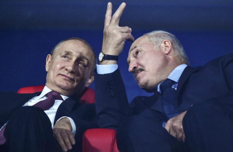 Macron dice que Lukashenko «debe irse»