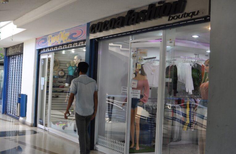 Centros comerciales reportan pocas ventas
