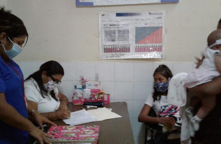 Al Ambulatorio Marapa llegaron todas las vacunas