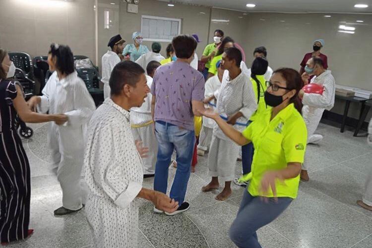 Pacientes de El Niño y el Mar recibieron atención integral