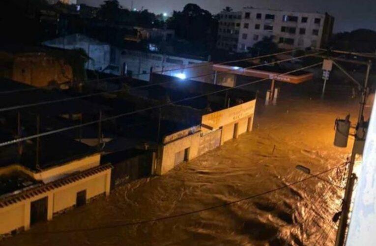 Lluvias inundaron cuatro municipios en Aragua