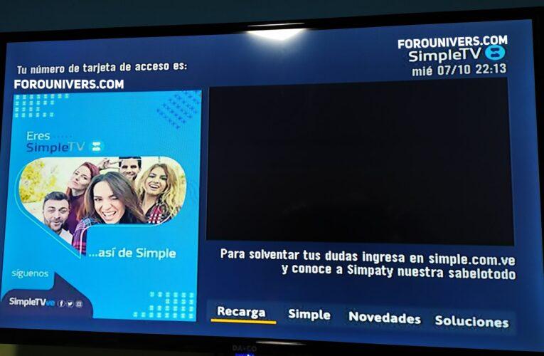 DirecTV Venezuela pasará a llamarse Simple TV