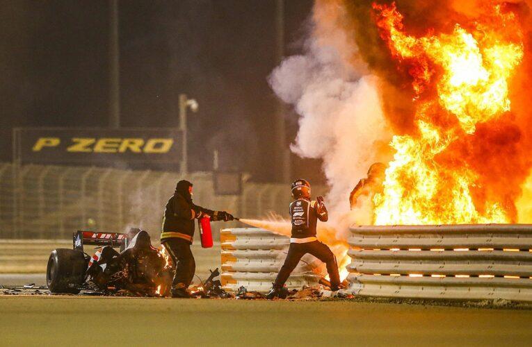 Hamilton gana accidentada carrera en Bahréin