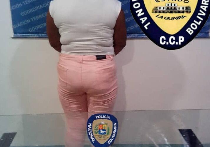 PNB le cerró la venta de droga a una mujer en Los Corales