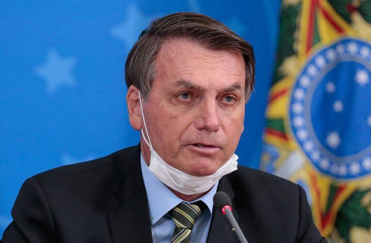 """Bolsonaro advierte sobre posible """"injerencia externa"""" en elección de EEUU"""