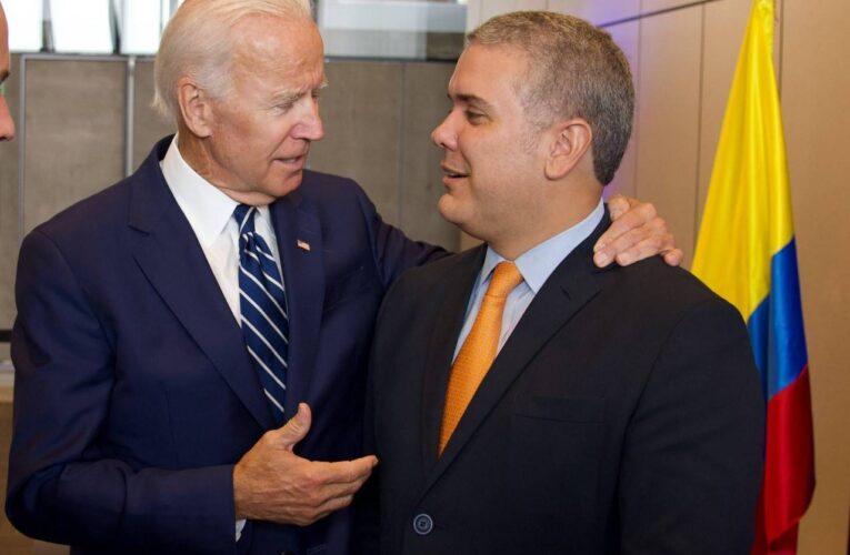 Duque: Colombia mantendrá una relación estratégica con Biden