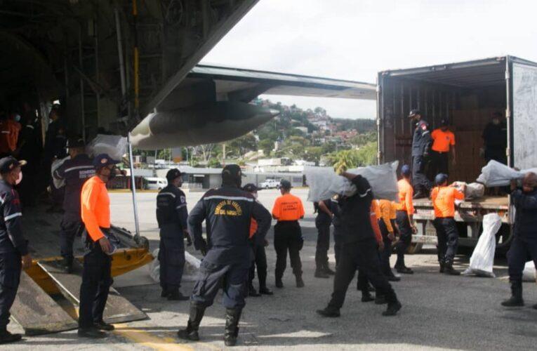 Envían 12 toneladas de ayuda a damnificados de Táchira