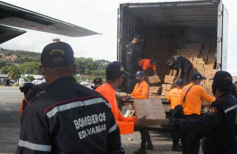 Envían 12.3 toneladas de insumos para familias afectadas por lluvias en Táchira