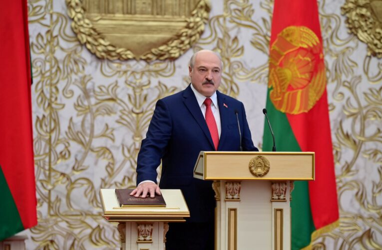 UE inició procedimiento para sancionar a Lukashenko