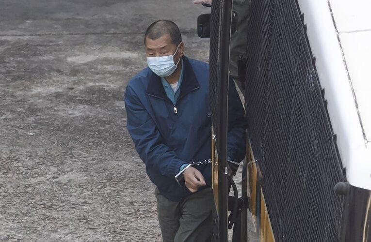 A prisión el magnate de la prensa Jimmy Lai