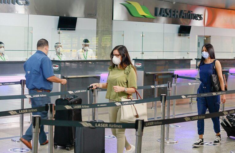 Laser reanuda vuelos a Dominicana