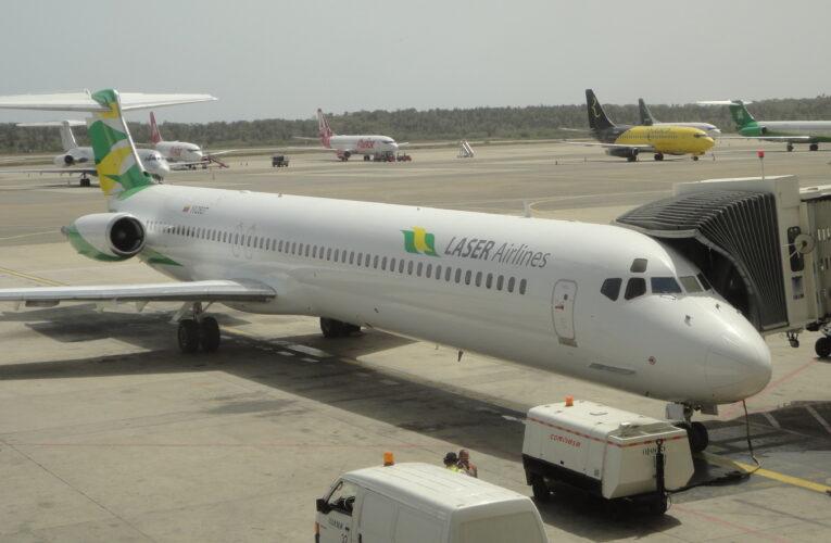 Laser suspende vuelos entre Caracas-Panamá