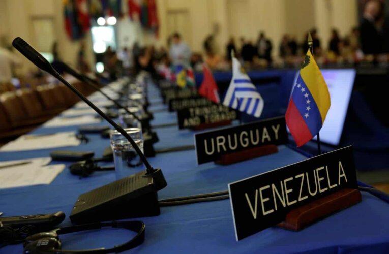 OEA aprueba resolución que desconoce las parlamentarias