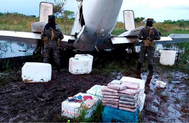 Falso avión de la ONU lleva coca de Venezuela a  Honduras