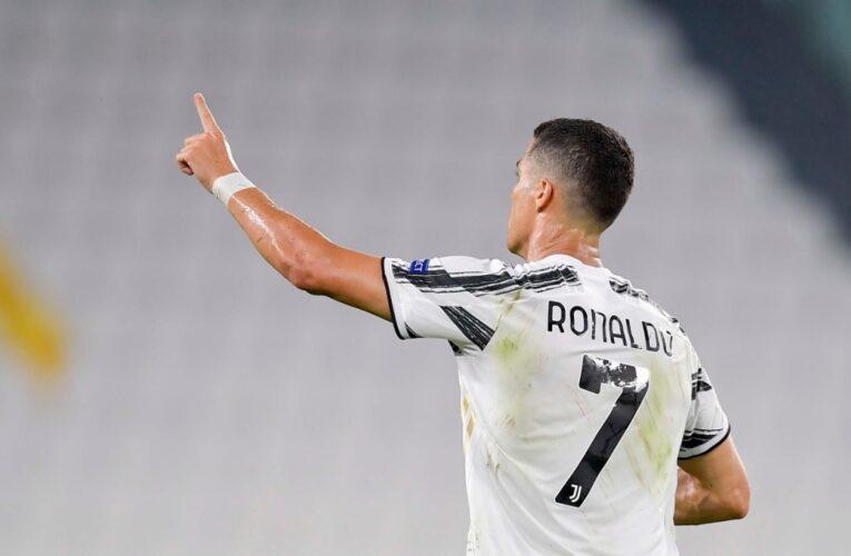 Cristiano anota 2 goles en su partido 100 con la Juve