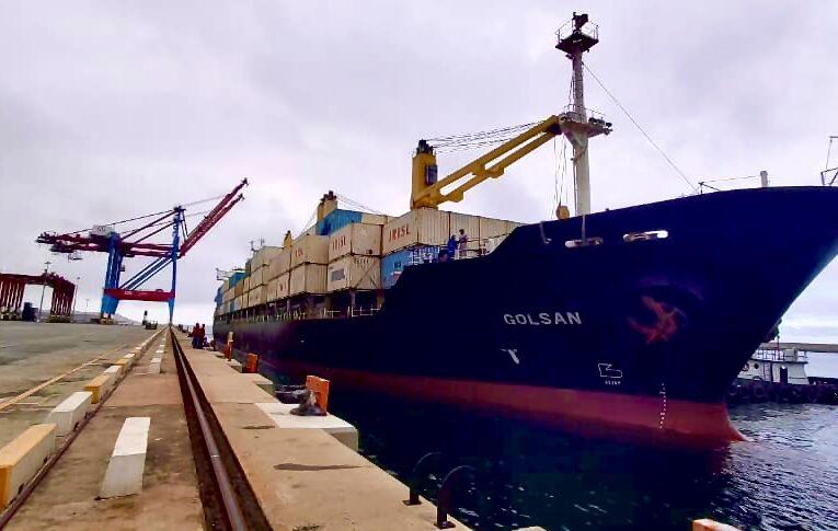Barco iraní llegó al puerto de La Guaira