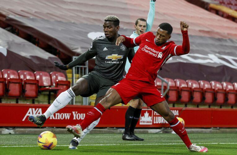 Manchester United resiste en Liverpool