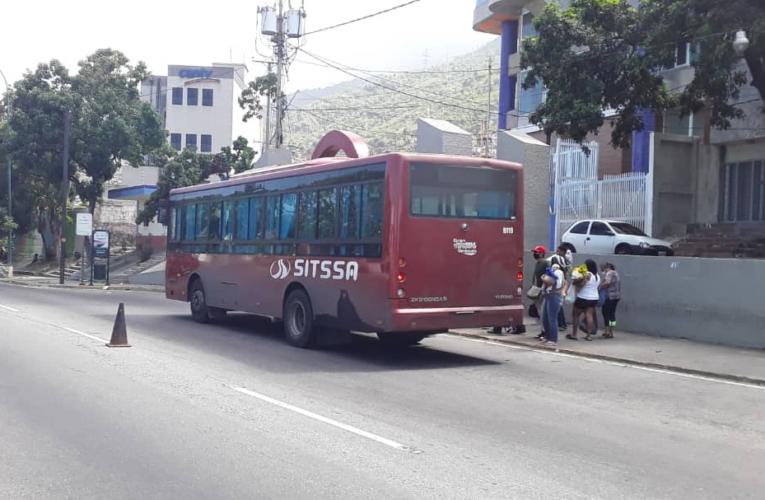 20 buses Sitssa disponibles para Caracas los fines de semana