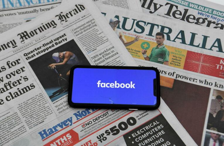 Australianos no pueden ver ni compartir noticias vía Facebook
