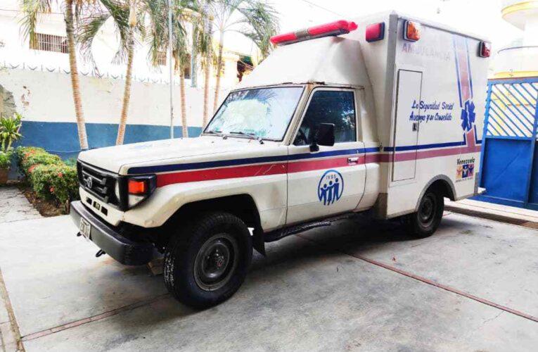 Activaron la ambulancia del IVSS de Naiguatá