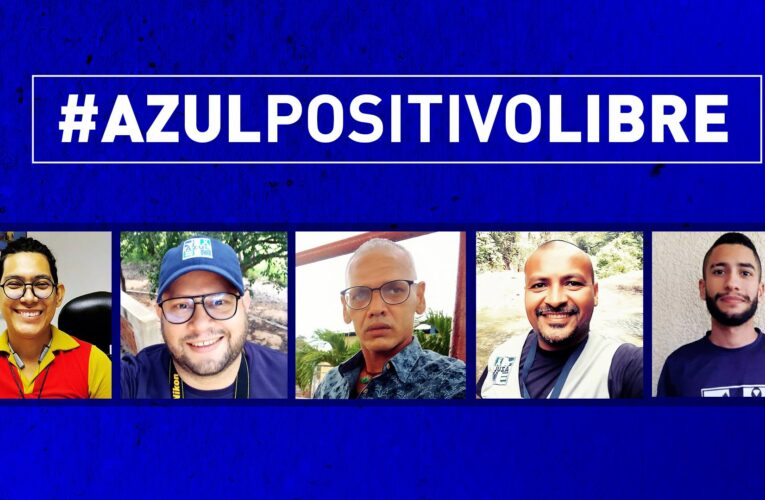 Liberan bajo régimen de presentación a 5 miembros de ONG Azul Positivo