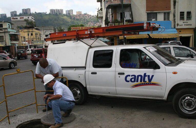 Técnicos de Cantv dicen no tener como resolver las fallas