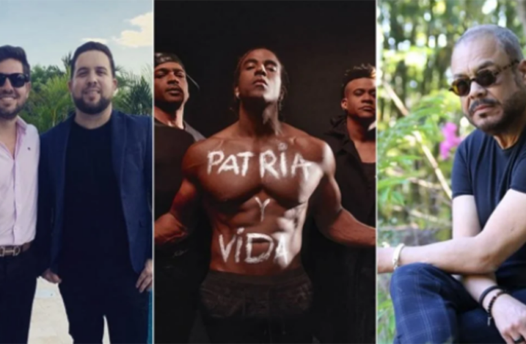 Artistas cubanos cantan Patria y Vida