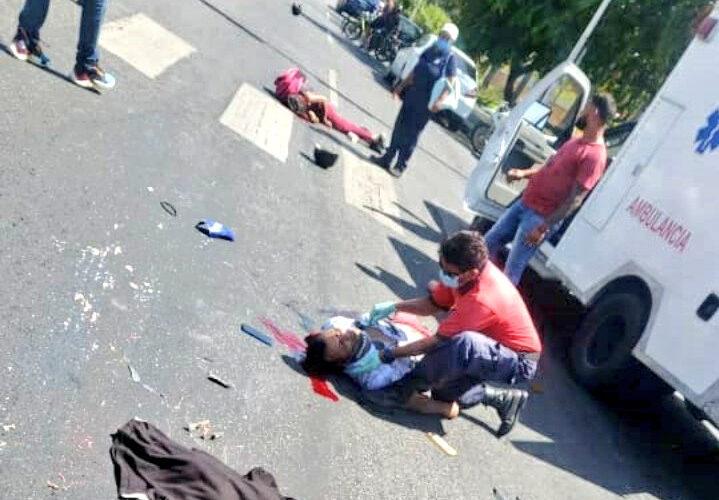 Muere niña arrollada por gandola en Maracay