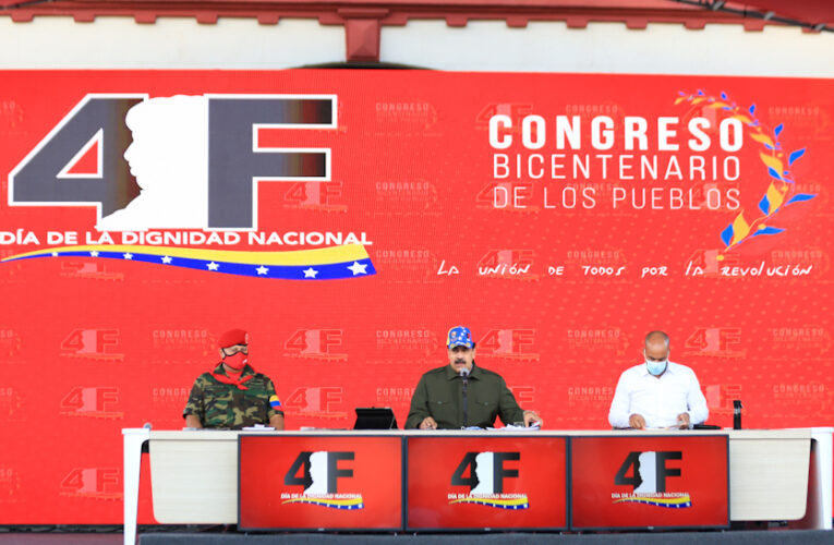 Maduro llamó a denunciar a los divisionistas
