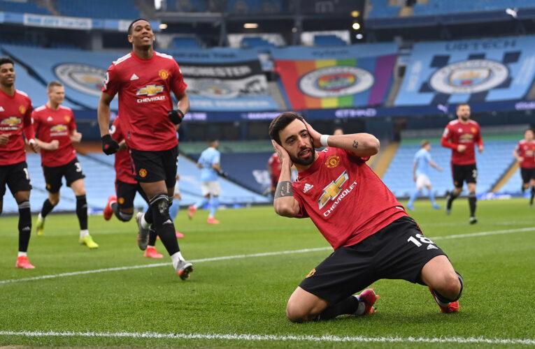 Manchester United frena la racha del City