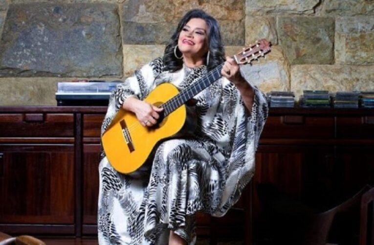Soledad Bravo tiene covid y recaudan fondos para su tratamiento