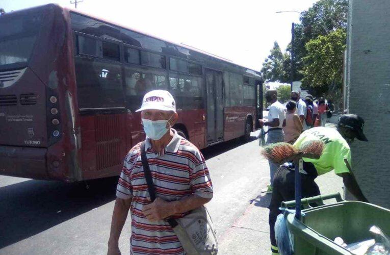 11 de 12 buses Sitssa están varados por gasoil
