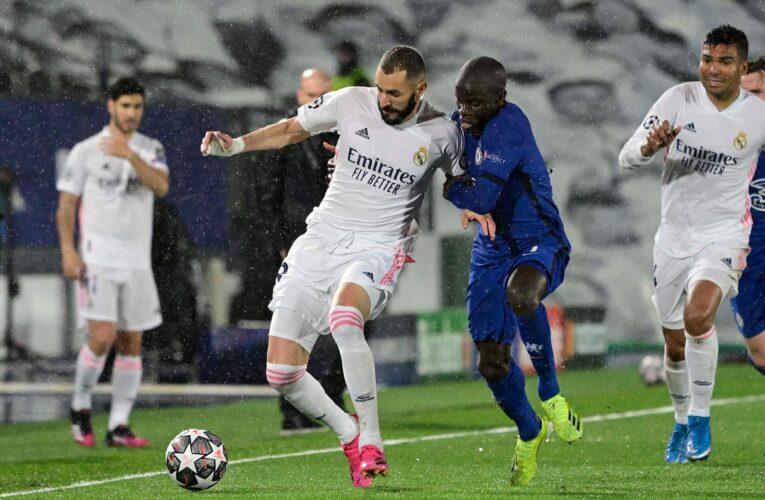 Real Madrid y Chelsea empatan y dejan la semifinal abierta