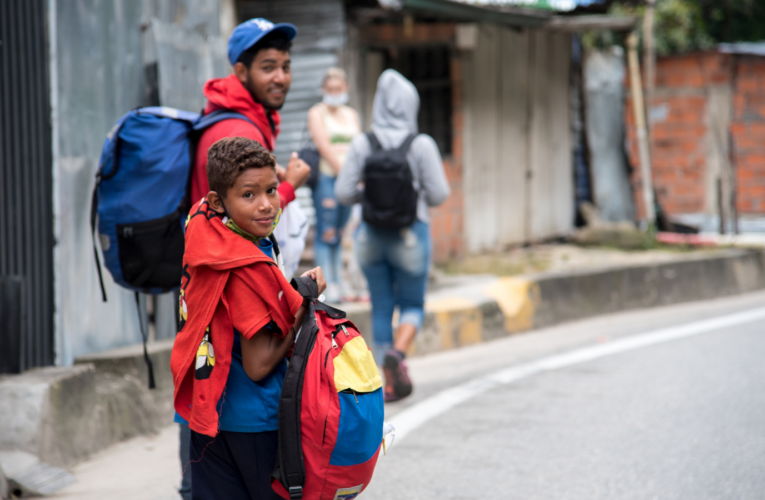 Crisis venezolana de desplazamiento es la cuarta más desatendida del mundo