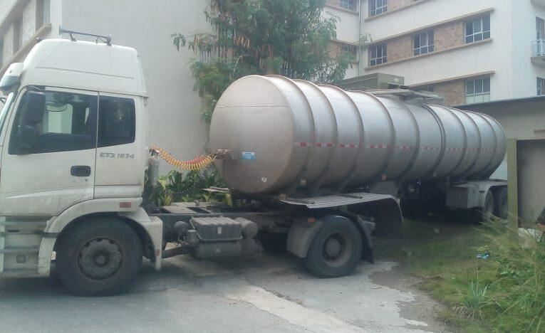 Directora del Seguro: Tenemos agua por tubería desde el jueves