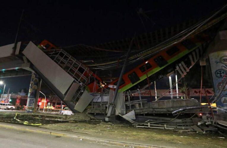 23 muertos y 70 heridos en accidente en metro de México
