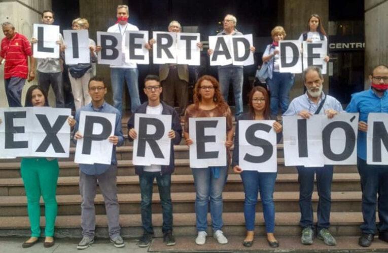 Espacio Público denuncia la detención de 8 personas por expresarse