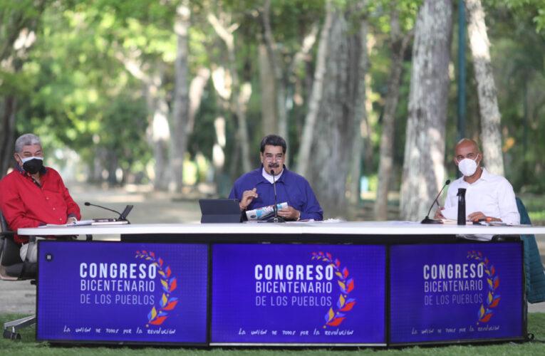 Maduro: Te traje al diálogo Juan Guaidó