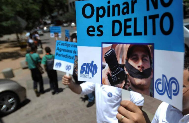 CNP: En Venezuela no hay libertad de prensa