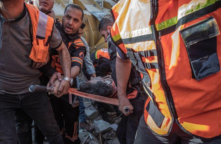 60 niños han fallecido por bombardeos en Gaza