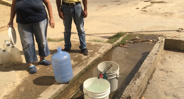 En La Esperanza 1 cumplirán 6 meses sin agua