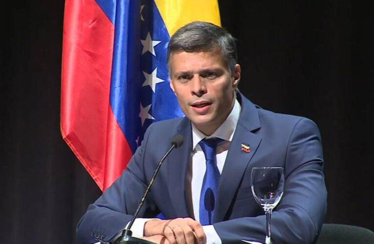 España recibió de Venezuela pedido de extradición de Leopoldo López