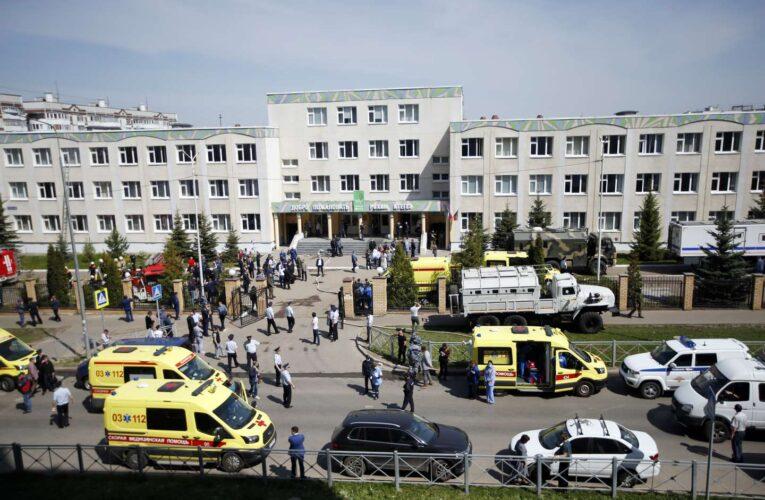 Al menos 9 muertos en tiroteo en un colegio de Rusia