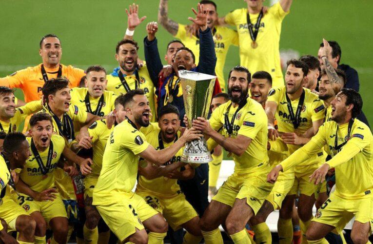 Villarreal conquistó su primera Europa League