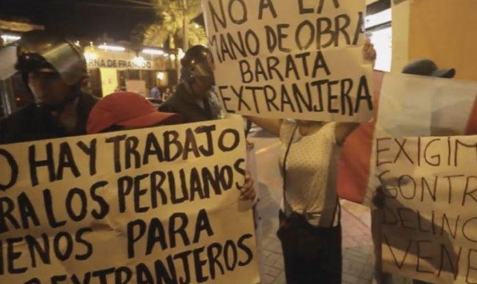 Refugiados venezolanos en Perú denuncian campaña xenófoba